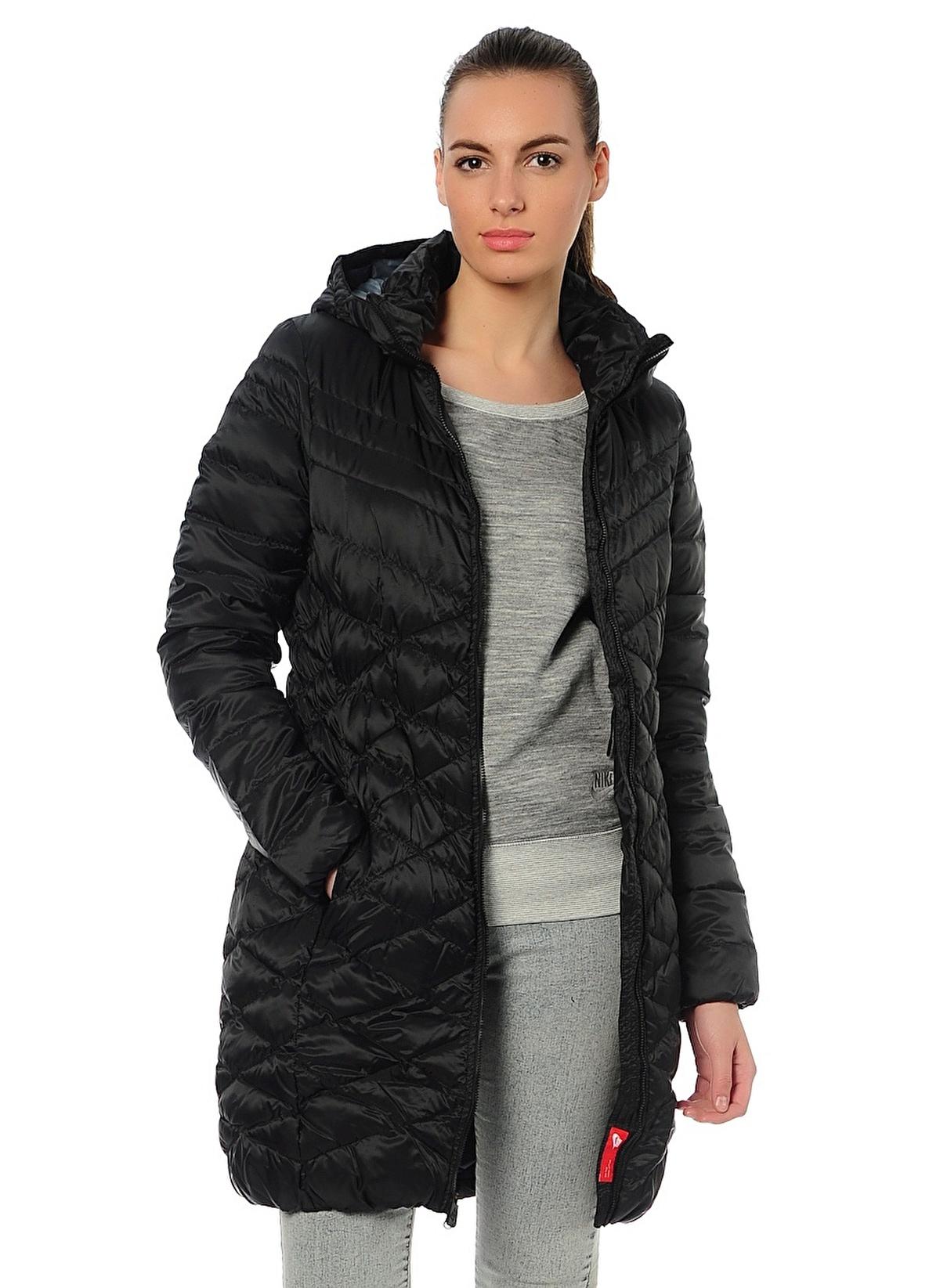 Nike Kadın Mont Black Armory Slate Black  345ba759e733